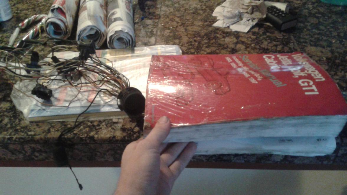 94 Jetta 2 0 Manual 5 Speed Engine Harness Rebuild