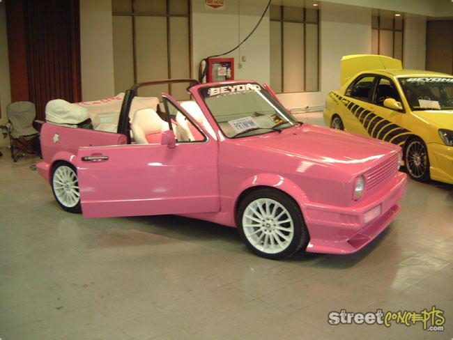 pink 1988 volkswagen cabriolet for sale vw forum volkswagen forum. Black Bedroom Furniture Sets. Home Design Ideas