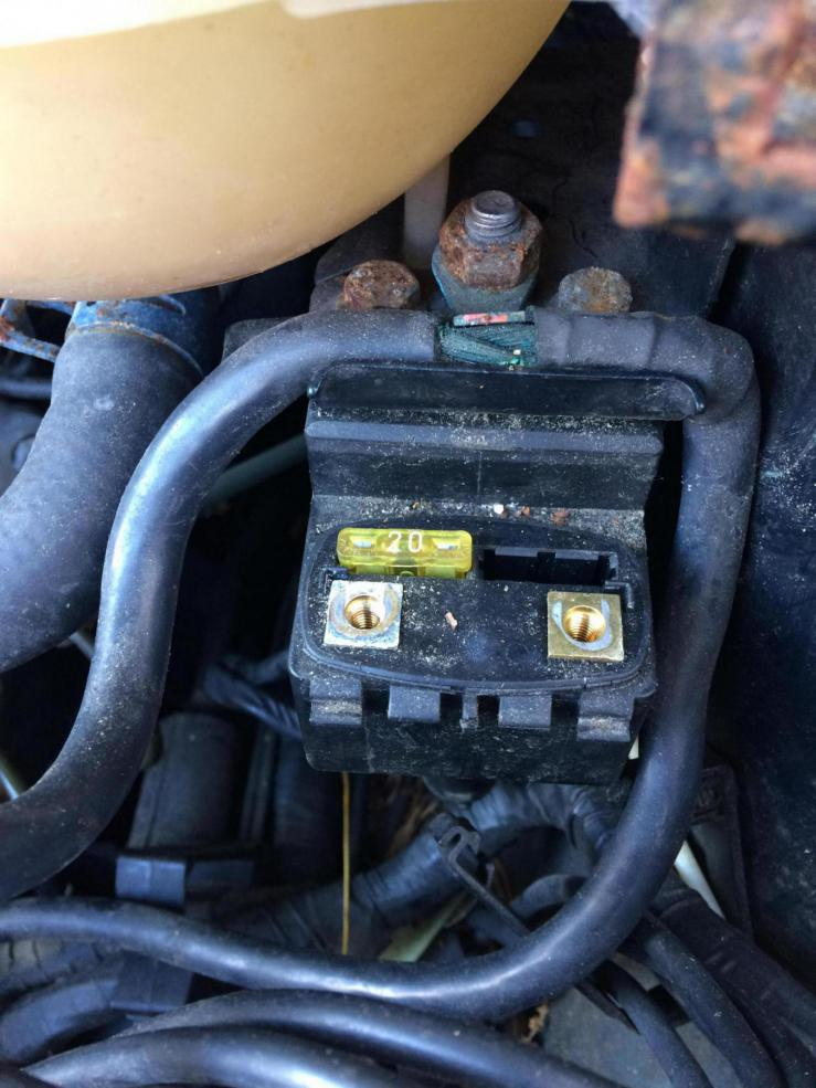 1995 cabrio wiring part/ electrical issue - VW Forum ...