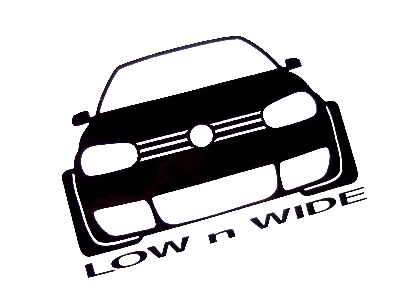 D Vw Decals Custom Decals Anything Decals Low N Wide