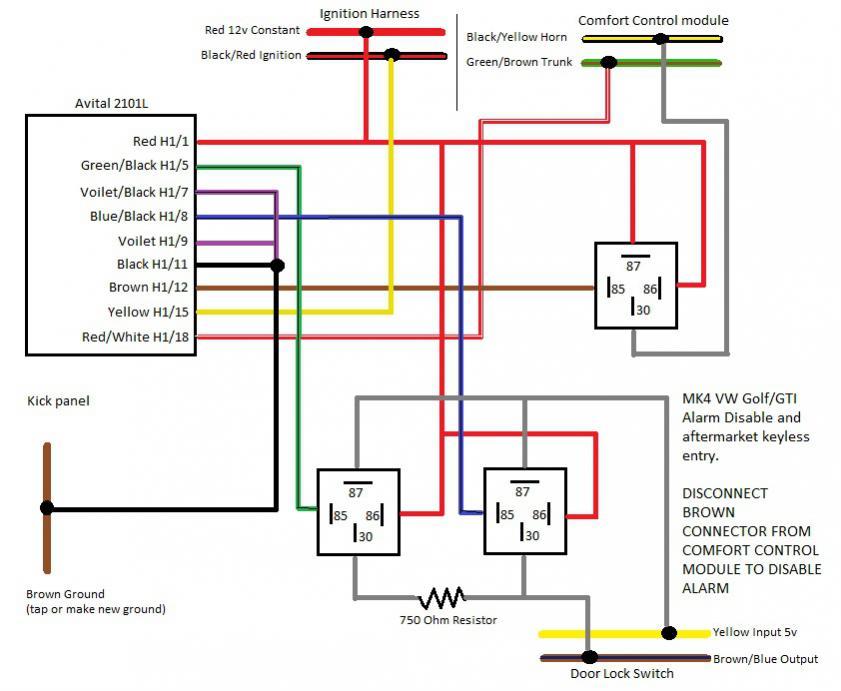 Vw Golf Mk4 Gti Wiring Diagram - Wiring Diagram And Schematics