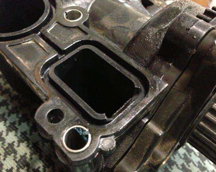 attn: vw techs, 2.0t cracked water pump - VW Forum :: Volkswagen Forum