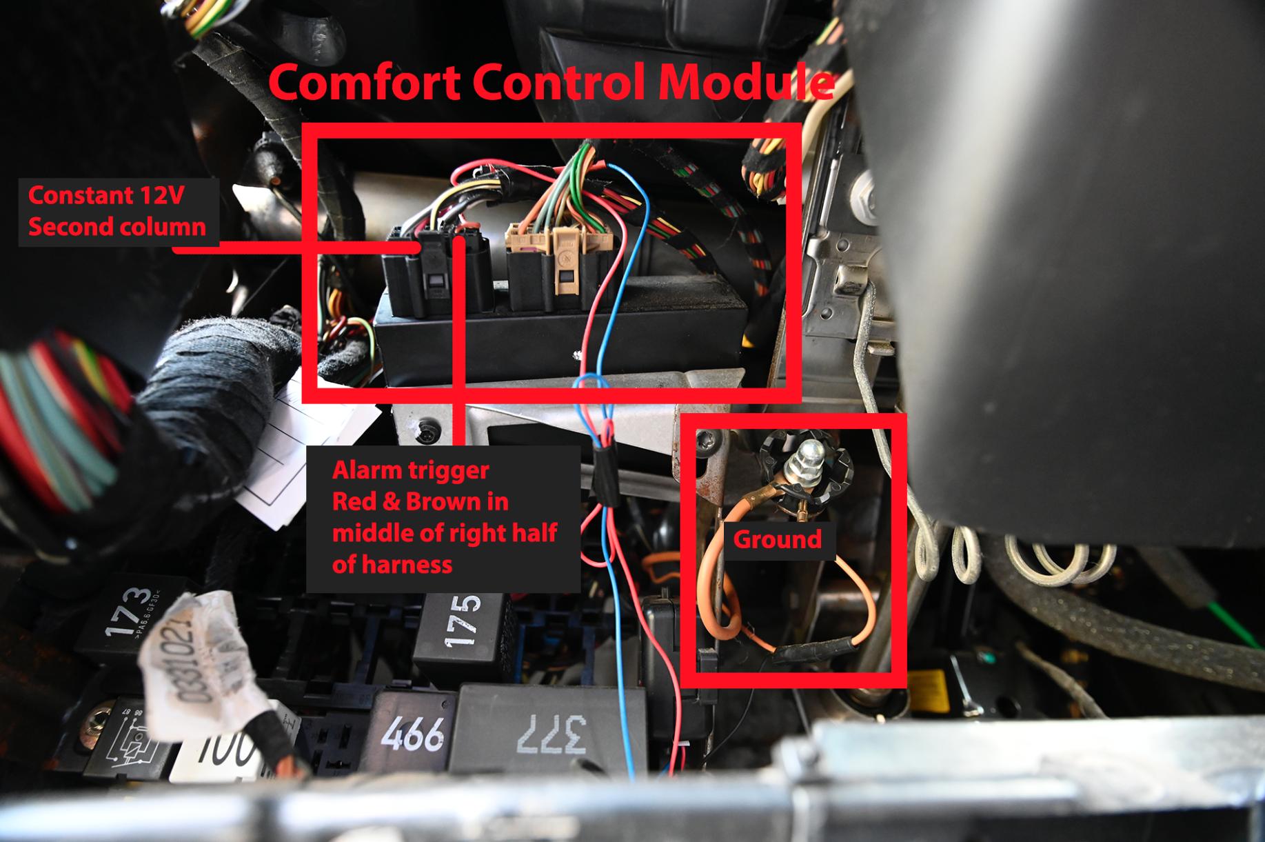 Adding a Gl-Break Alarm Sensor | VW Forum on prestige alarm wiring diagram, motorcycle alarm wiring diagram, class b fire alarm wiring diagram, code alarm wiring diagram,