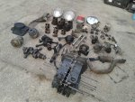 1969 VW BEETLE motor and components